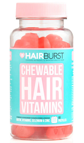 Hair Burst Chewable Hair Vitamins.