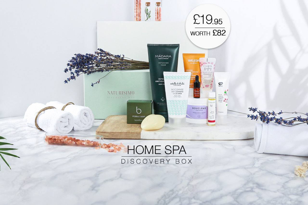 Naturisimo Home Spa Discovery Box