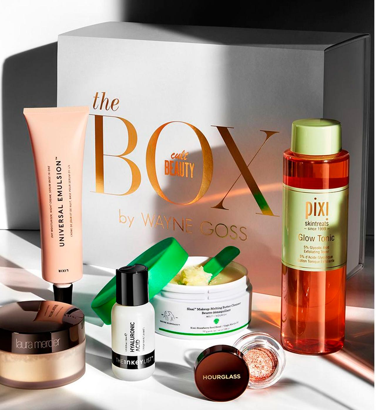 Wayne Goss X Cult Beauty Beauty Box 2020