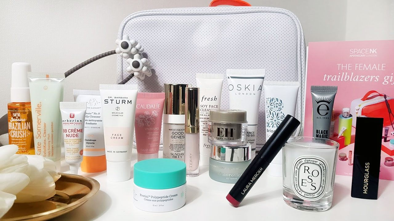 Space NK The Female Trailblazers Gift Goody Bag Spring 2020