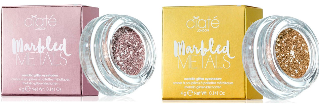Ciate London Marbled Metals Eye Shadow - Serendipity и Eclipse