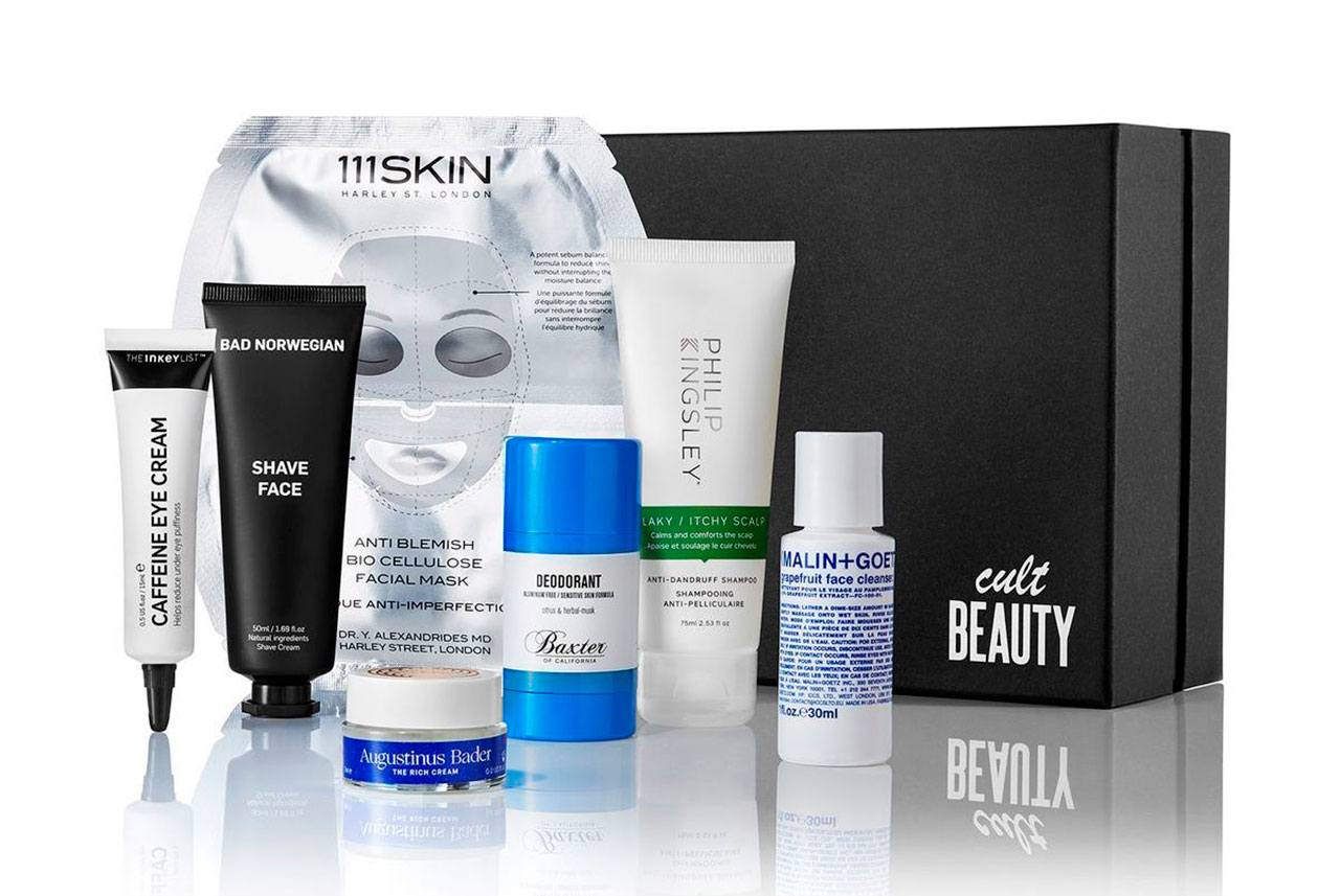 The Cult Beauty Men's Starter Kit