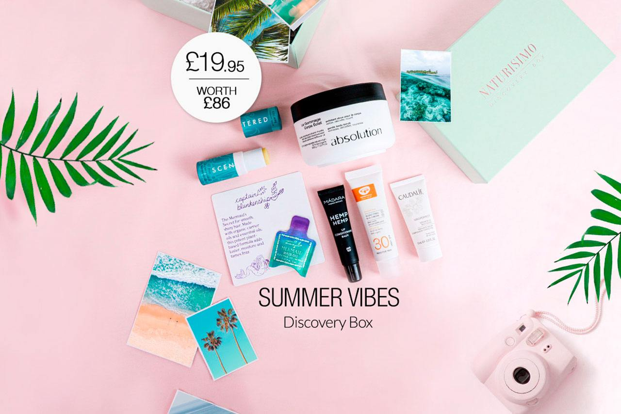 Naturisimo The Summer Vibes Discovery Box