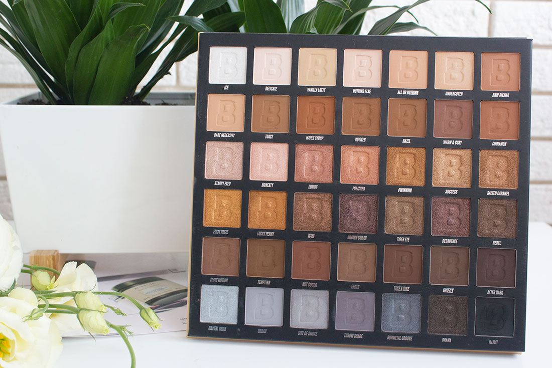 By Beauty Bay Nude 42 Colour Palette