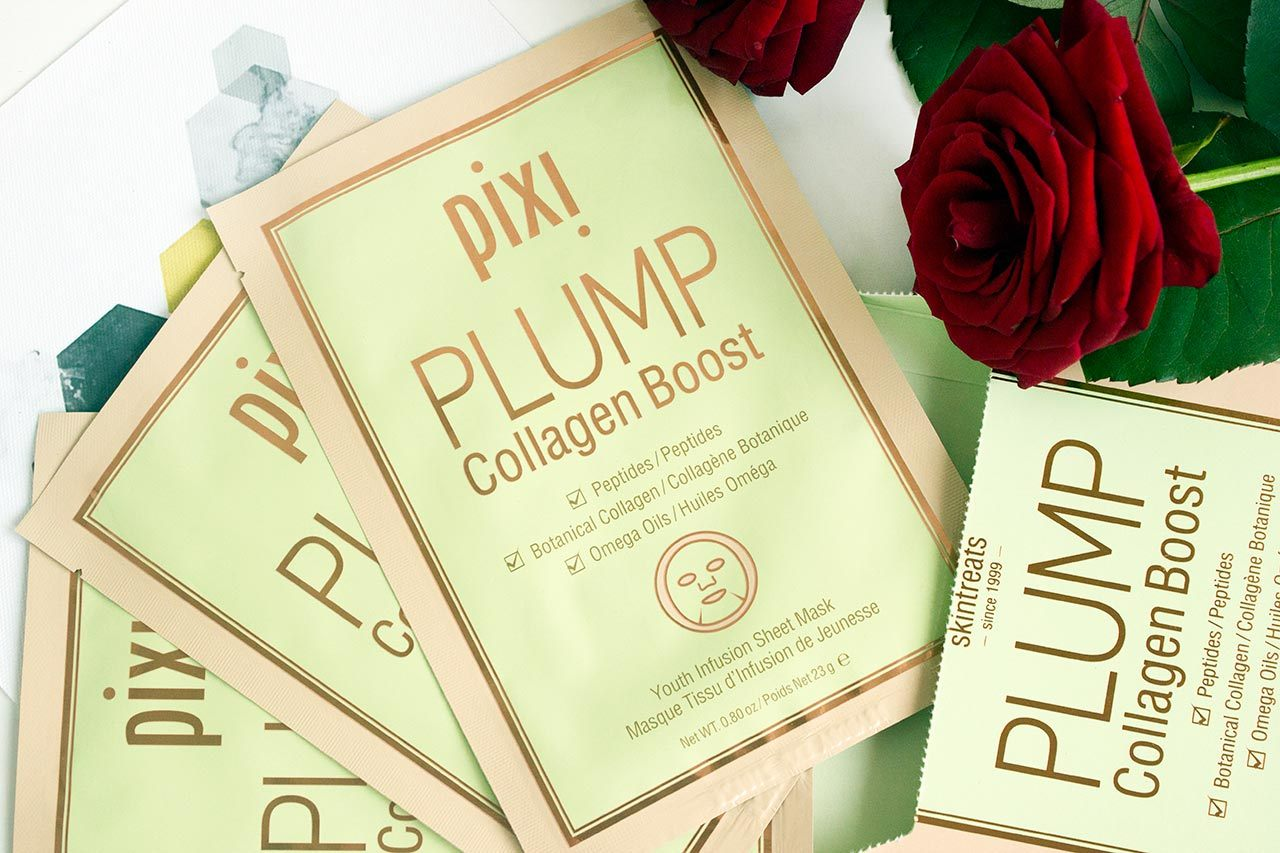 Pixi PLUMP Collagen Boost Volumizing Infusion Sheet Mask