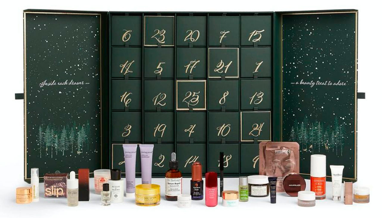 календарь Harrods Beauty Advent Calendar 2020