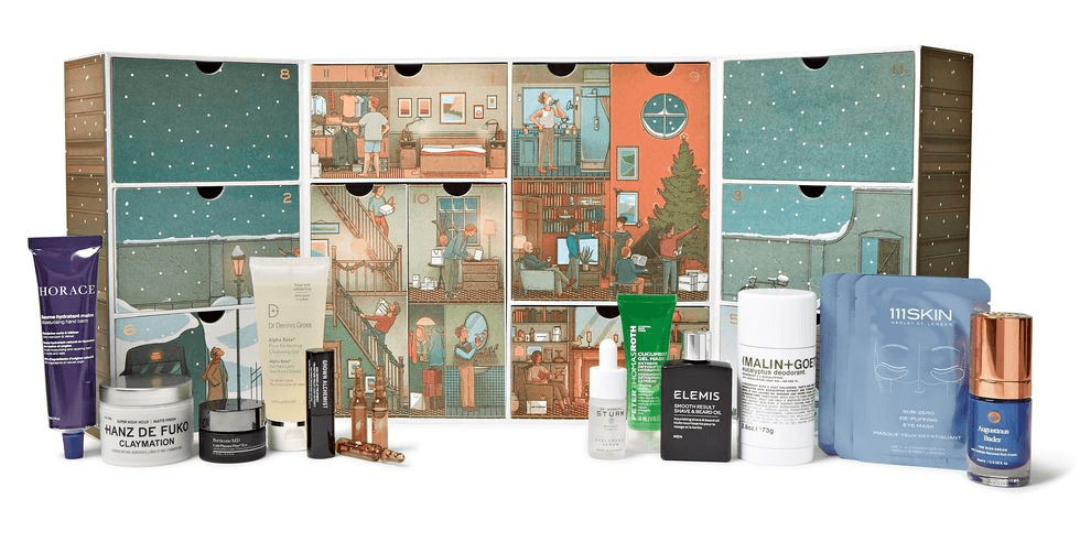 календарь Mr Porter Advent Calendar 2020