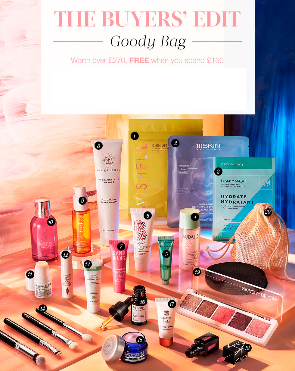 Cult Beauty Goody Bag Autumn 2020