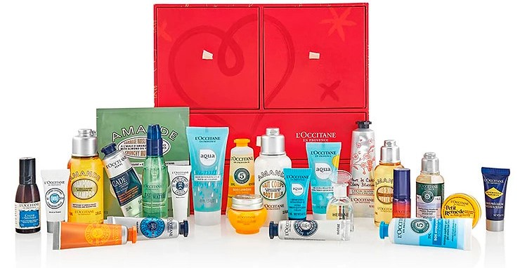L'Occitane Luxury Beauty Advent Calendar 2020