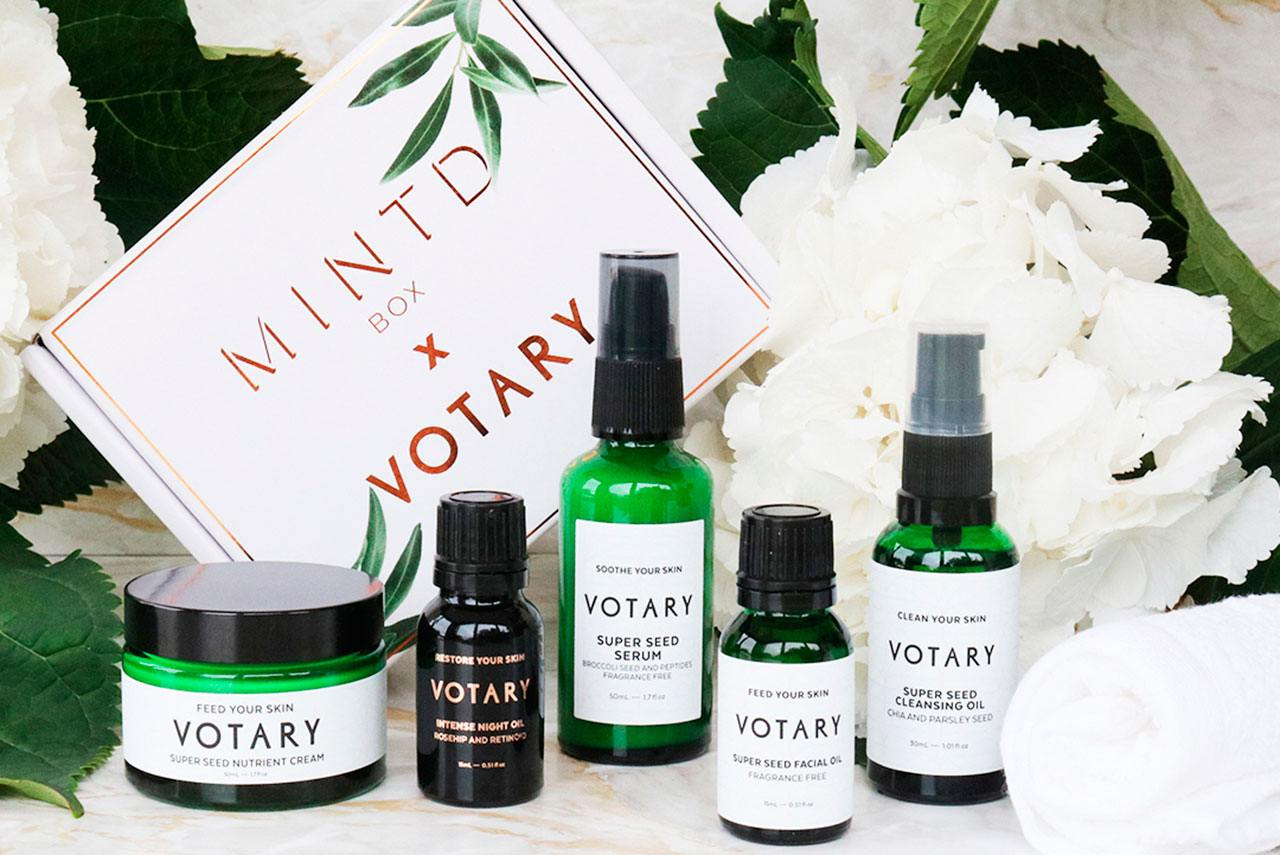 Mintdbox x Votary Beauty Box
