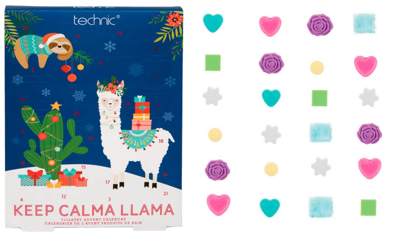 technic Keep Calma Llama Advent Calendar 2020