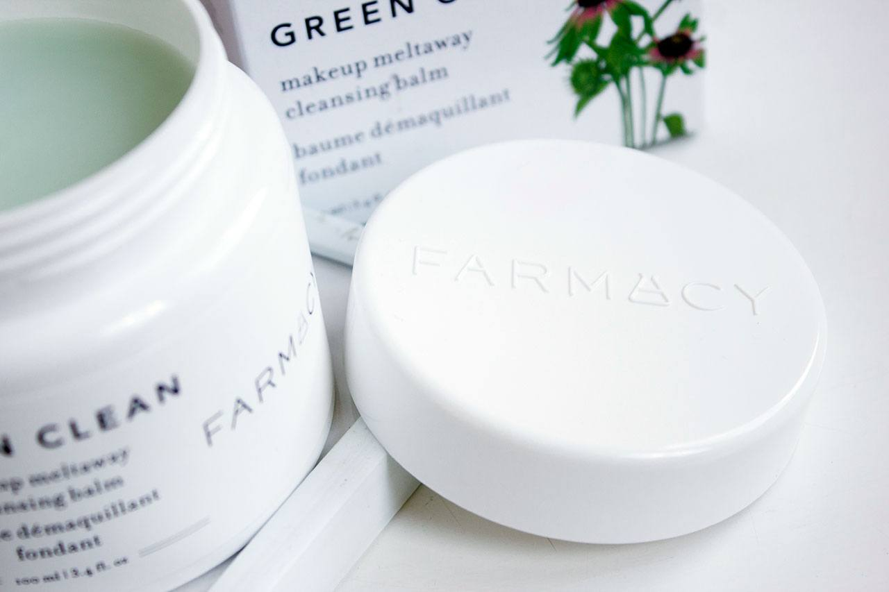 бальзам FARMACY Green Clean MakeUp Meltaway Cleansing Balm