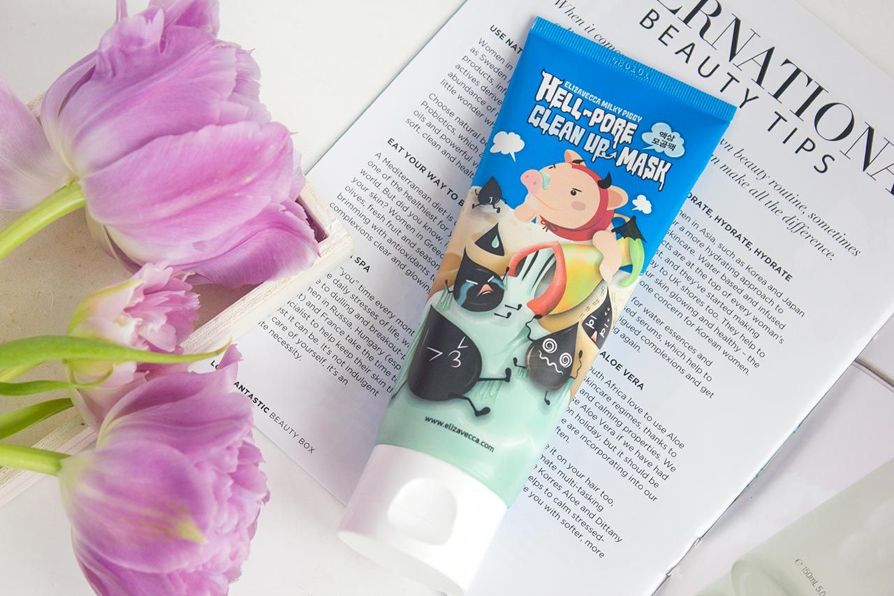 Elizavecca Hell-Pore Clean Up Mask
