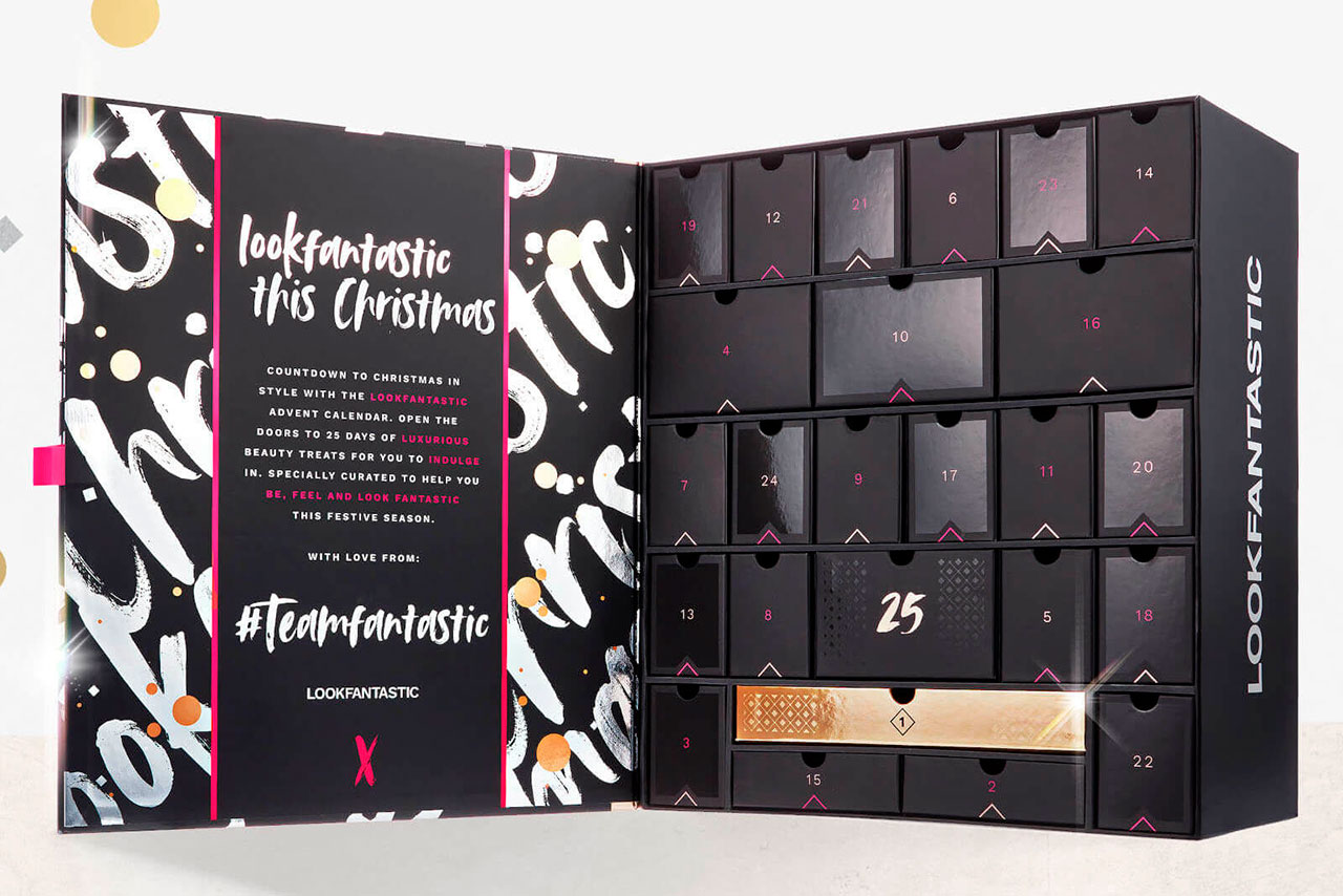 Lookfantastic Advent Calendar 2020 предзаказ