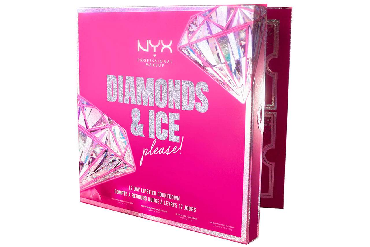 NYX Diamonds and Ice Please 12 Day Lipstick Advent Calendar 2020