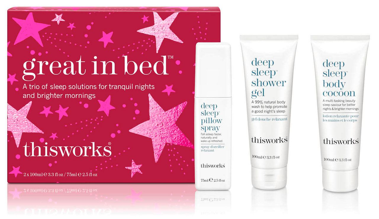 this works Great in Bed Gift Set