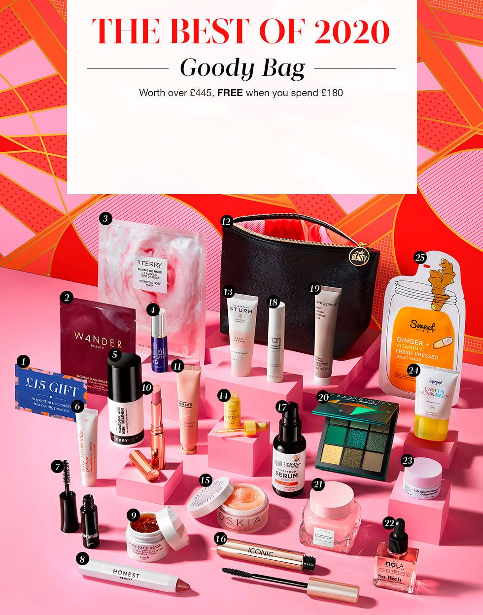 Cult Beauty The Best Of 2020 Goody Bag