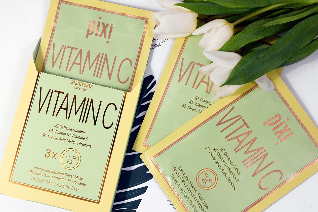 Pixi Vitamin-C Energizing Infusion Sheet Mask