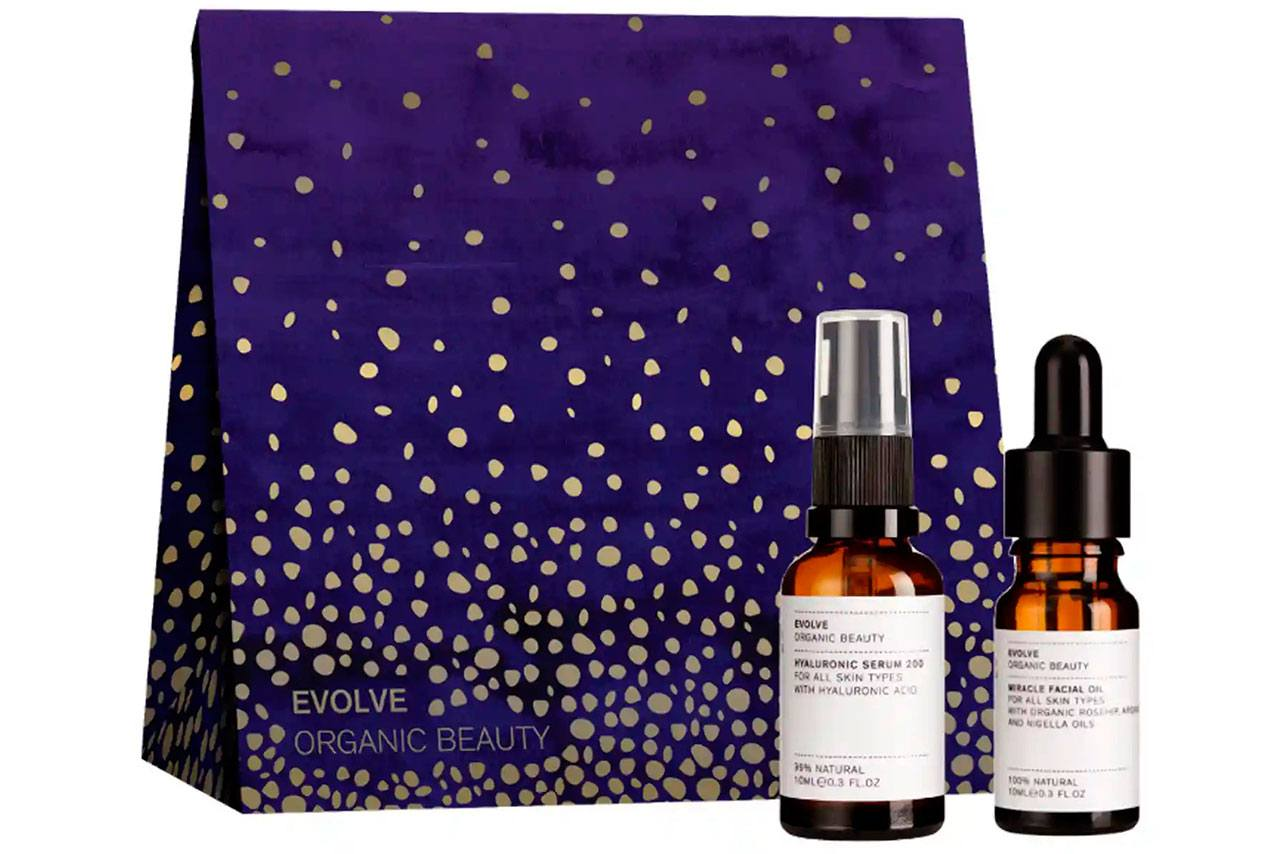 Evolve Beauty Plump & Replenish Collection Gift Set