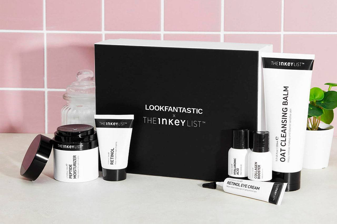Lookfantastic x The Inkey List Anti-Ageing Beauty Box
