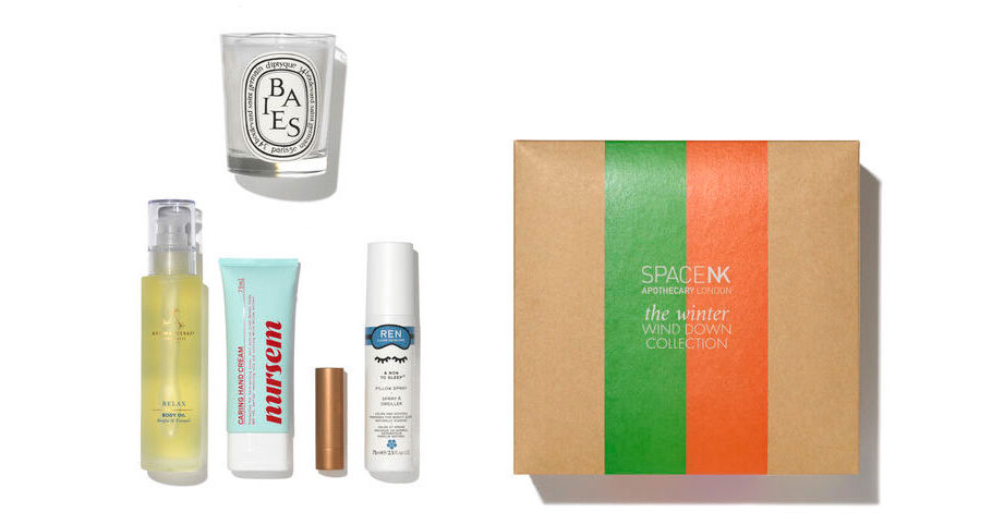 Space NK Winter Wind Down Collection Box