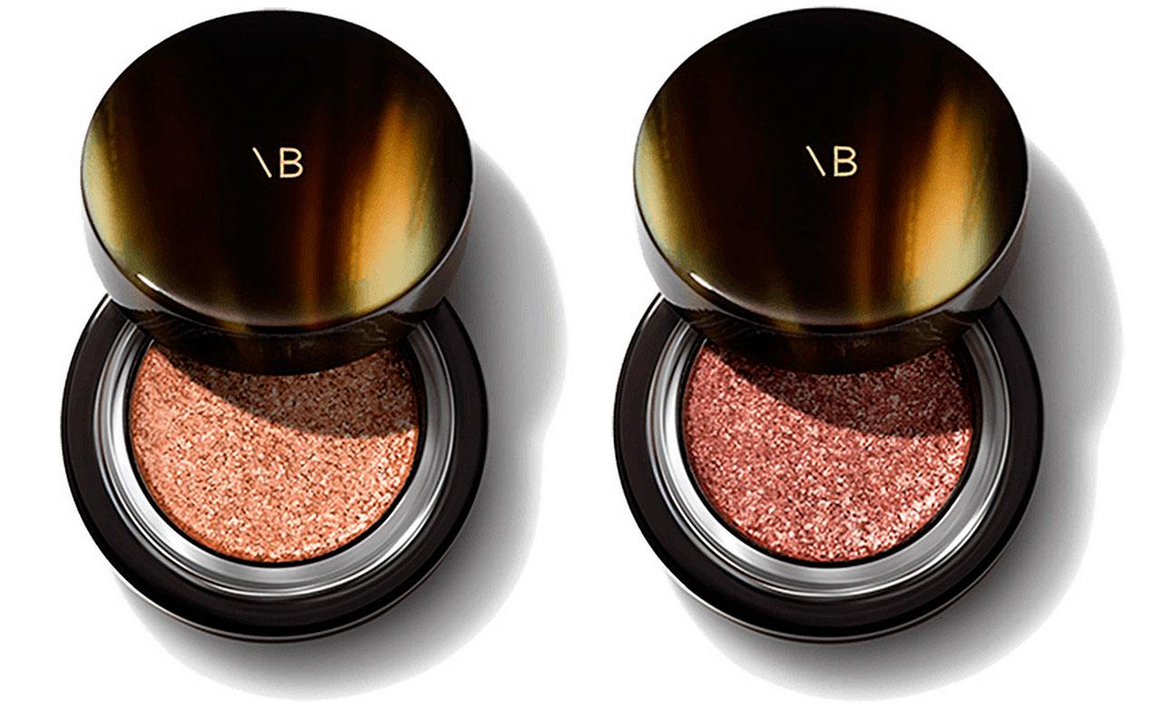 Victoria Beckham Beauty Lid Lustre in Honey and Tea Rose