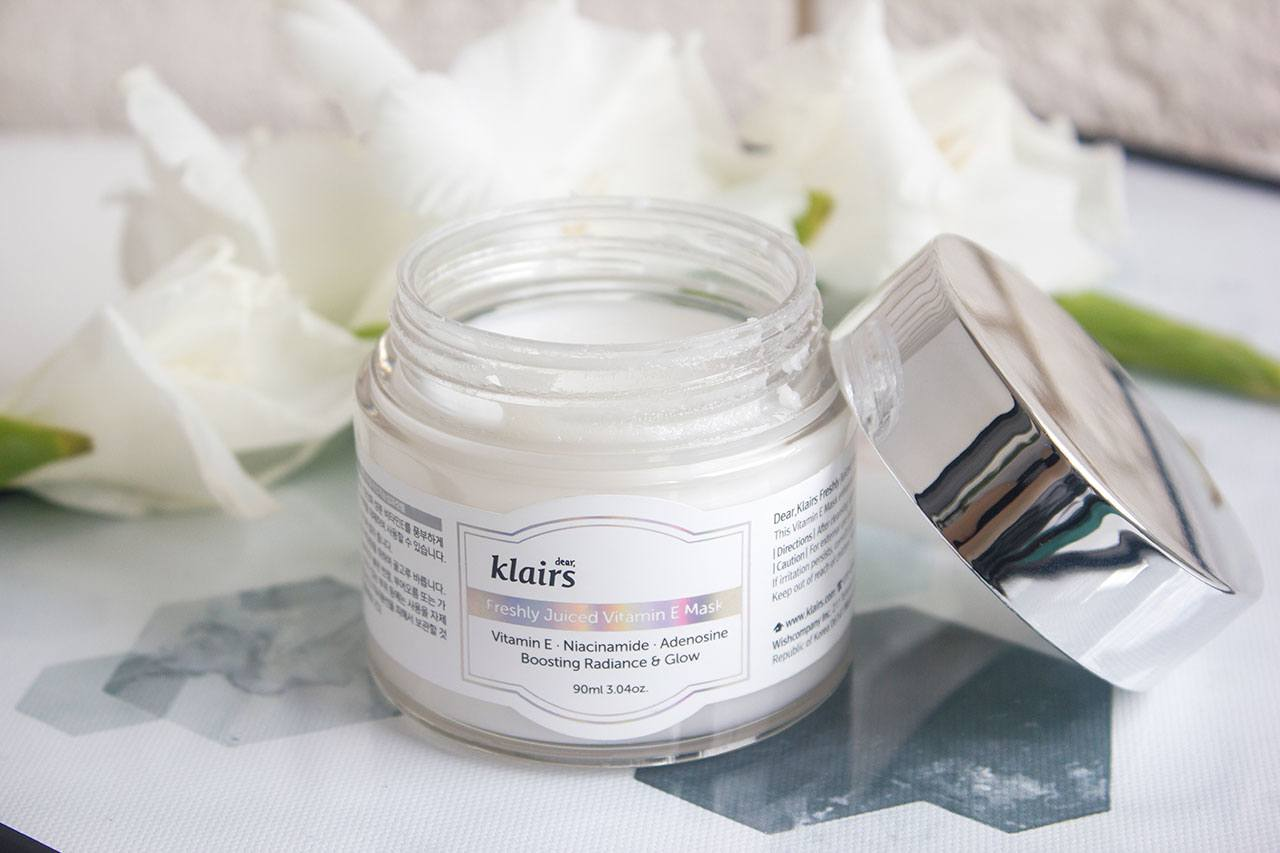 маска Dear Klairs Freshly Juiced Vitamin E Mask