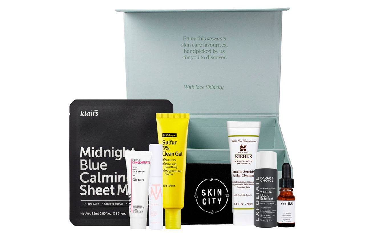 Skincity Winter Edition Seasonal Box 2021