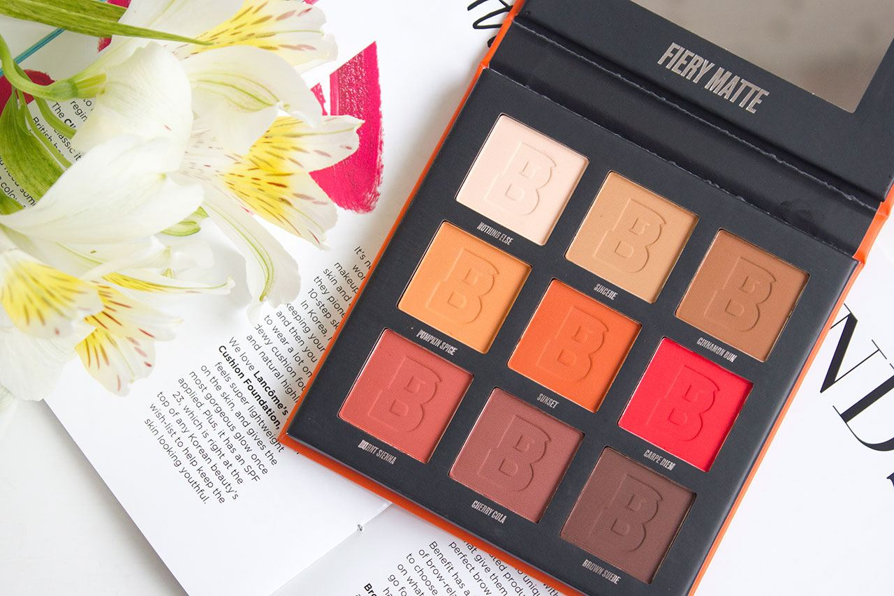 By BEAUTY BAY Fiery Matte Palette