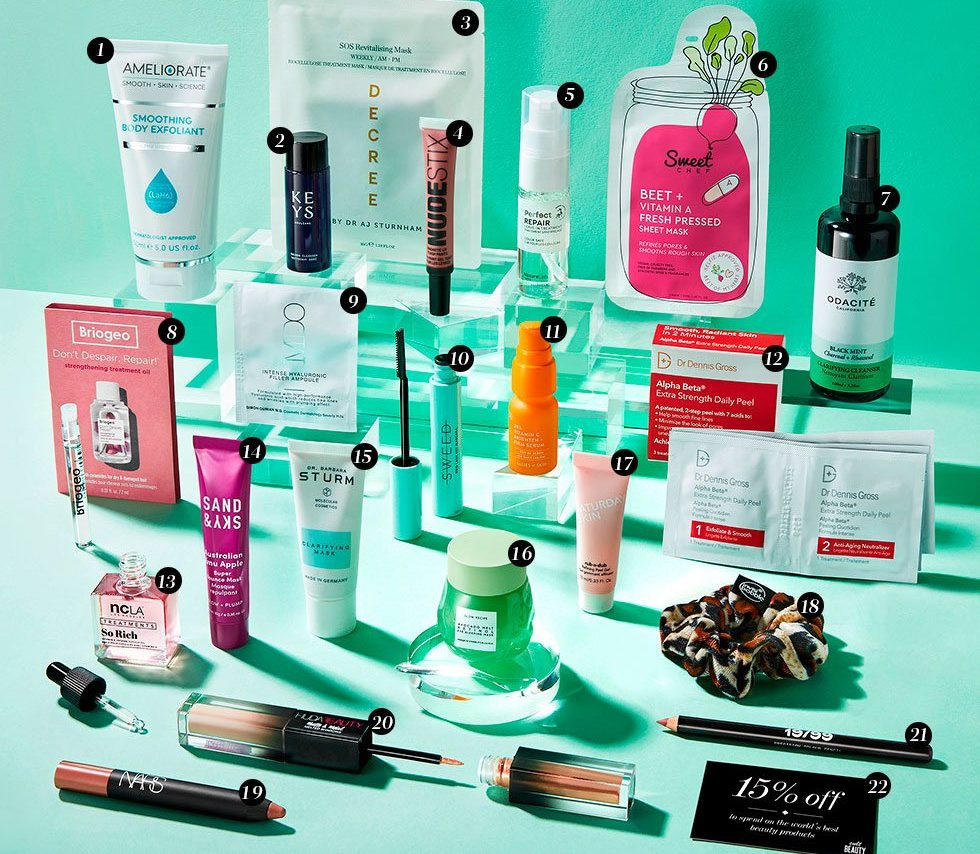 Cult Beauty The Unsung Heroes Goody Bag