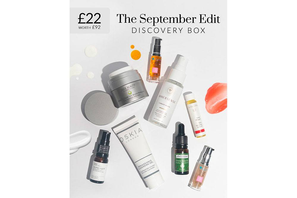 Naturisimo The September Edit Exclusive Discovery Box
